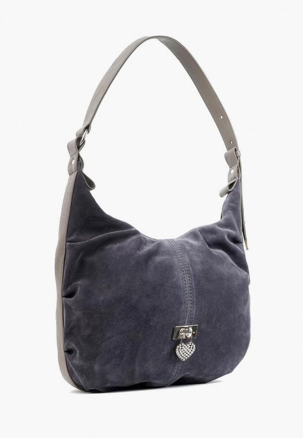 женская сумка-шоперы vita, синяя
