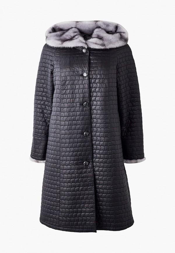 женская утепленные куртка trevery, черная