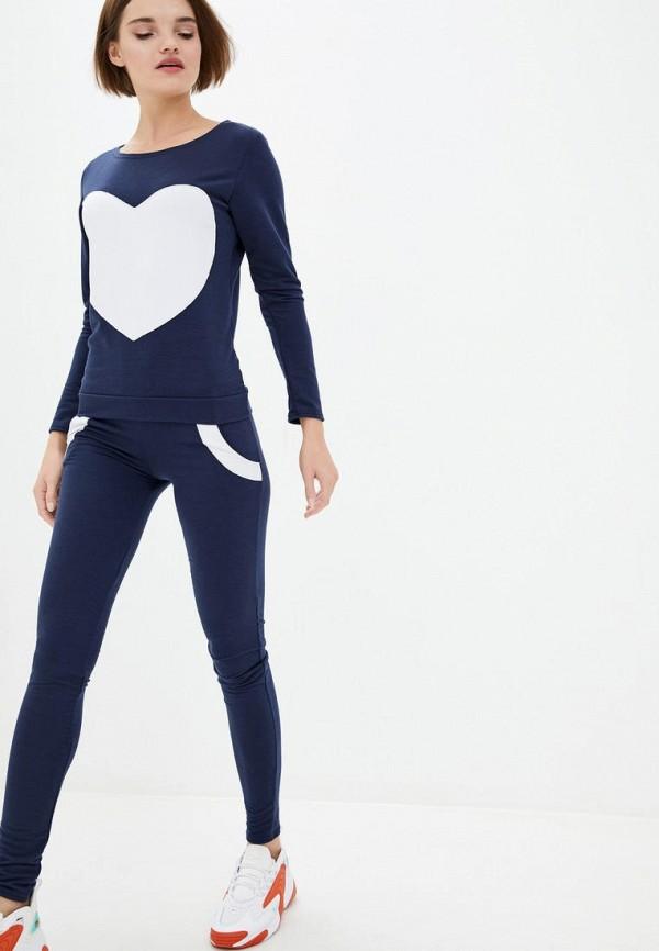 женский спортивный костюм подіум, синий