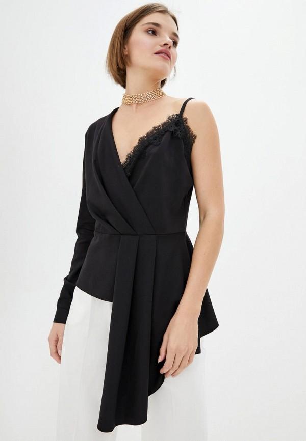 женская блузка ora, черная