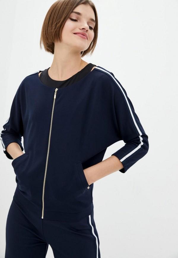 женская олимпийка ora, синяя