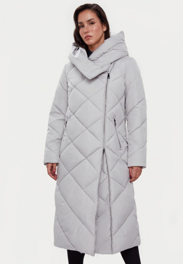 Куртка утепленная Finn Flare серого цвета