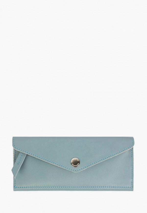 женский кошелёк kokosina, голубой