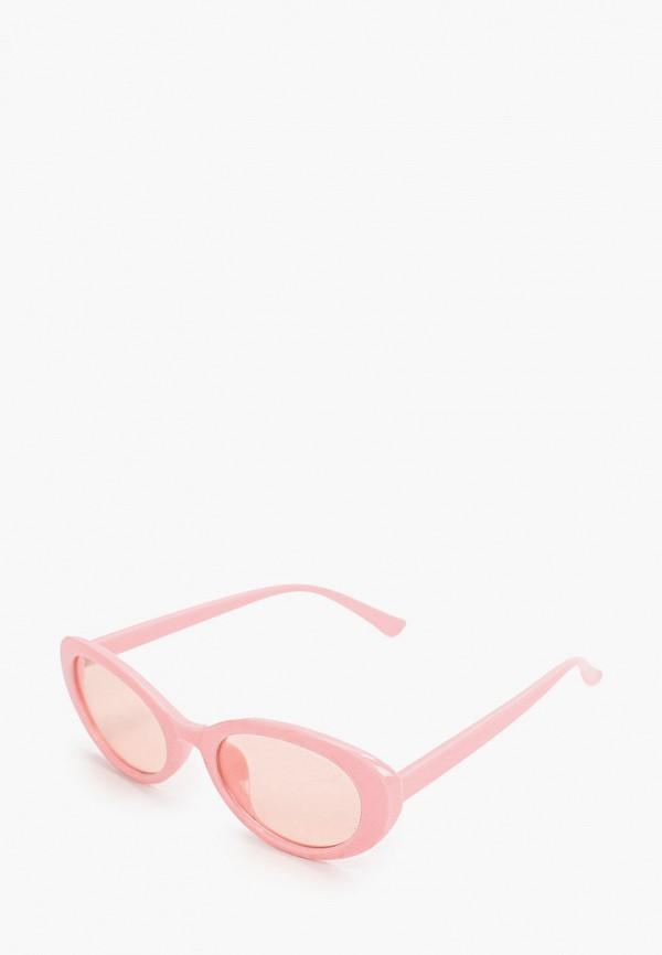 женские солнцезащитные очки красная жара, розовые
