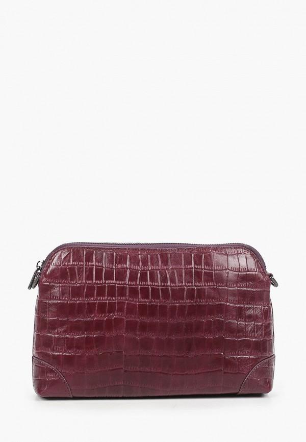женская сумка через плечо alexander tsiselsky, фиолетовая