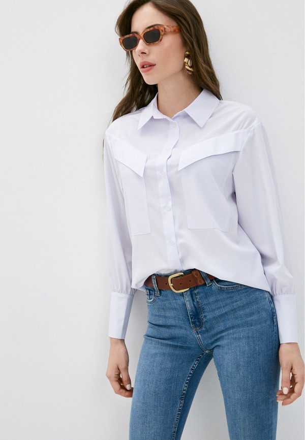 Блуза AM One AM One  белый фото