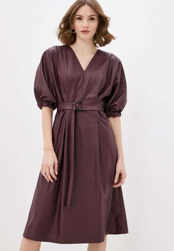 Платье AM One AM One  бордовый фото