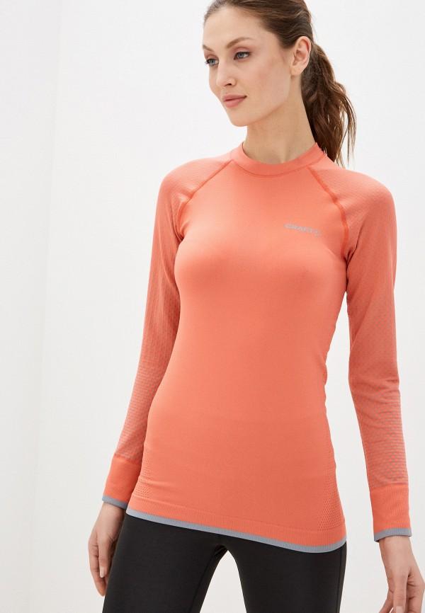 женское термобелье craft, оранжевое