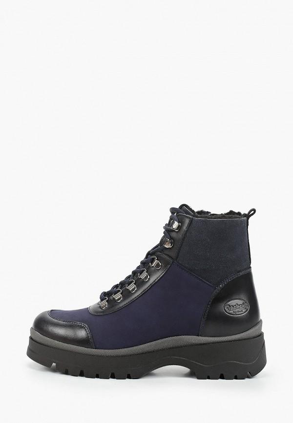 женские высокие ботинки dockers by gerli, синие