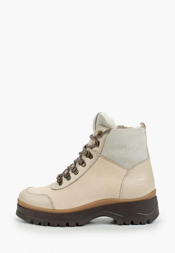 женские высокие ботинки dockers by gerli, бежевые