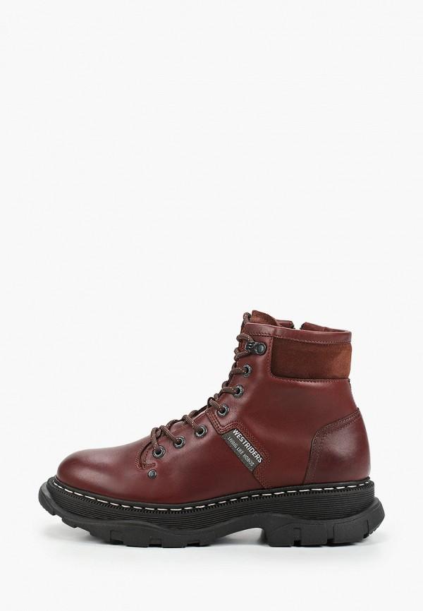 женские ботинки westriders, коричневые