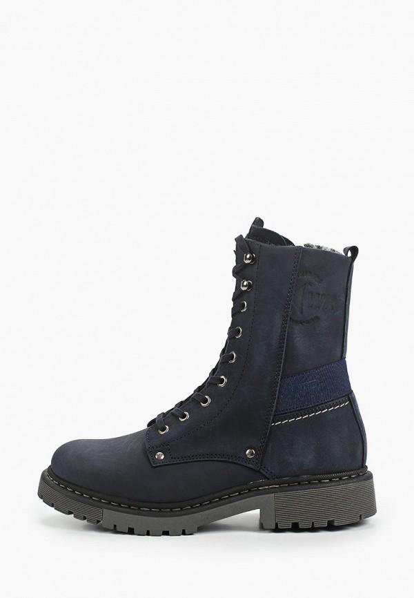 женские высокие ботинки westriders, синие