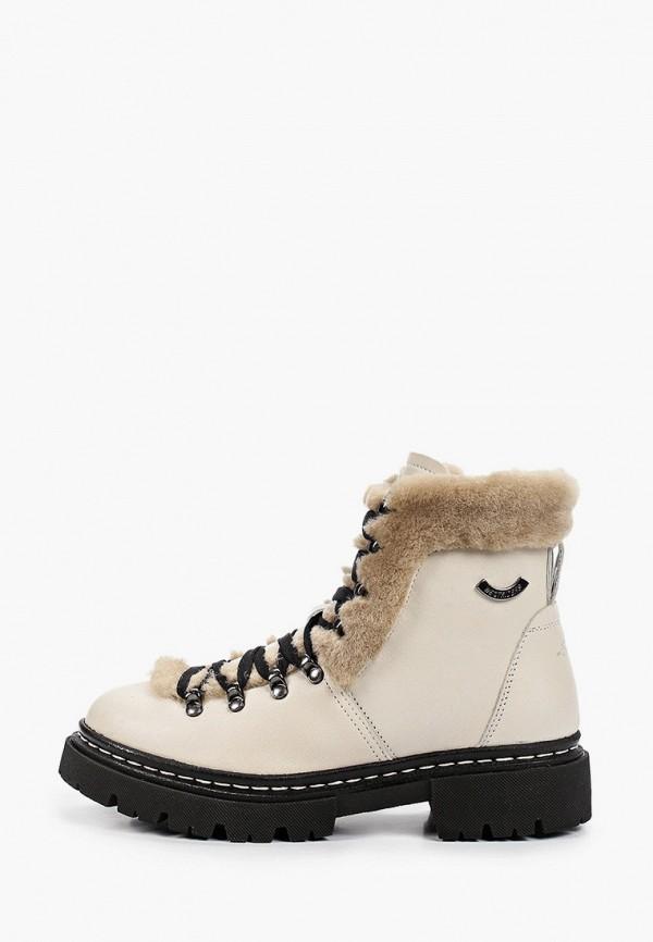 женские высокие ботинки westriders, белые