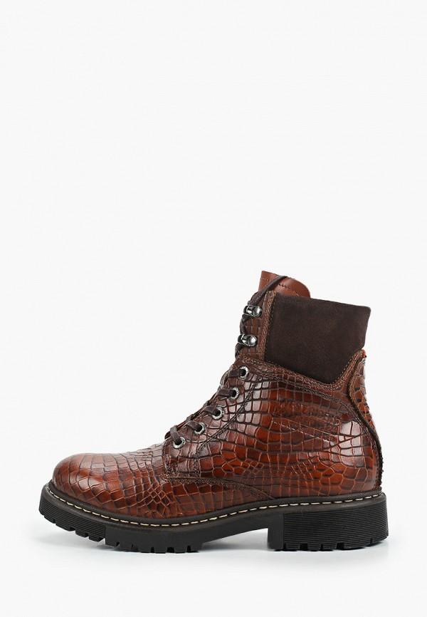 женские высокие ботинки westriders, коричневые