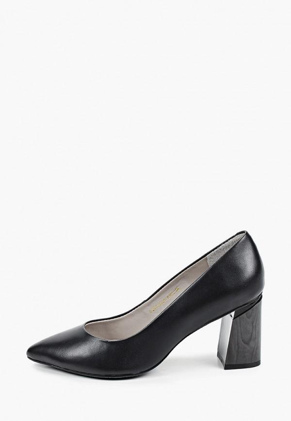 женские туфли с закрытым носом capelli rossi, черные