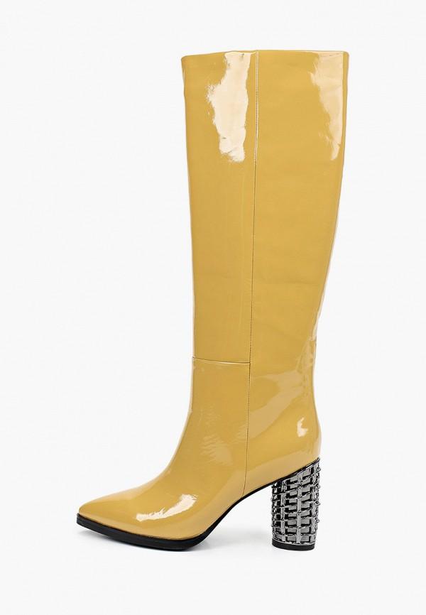 женские сапоги graciana, желтые