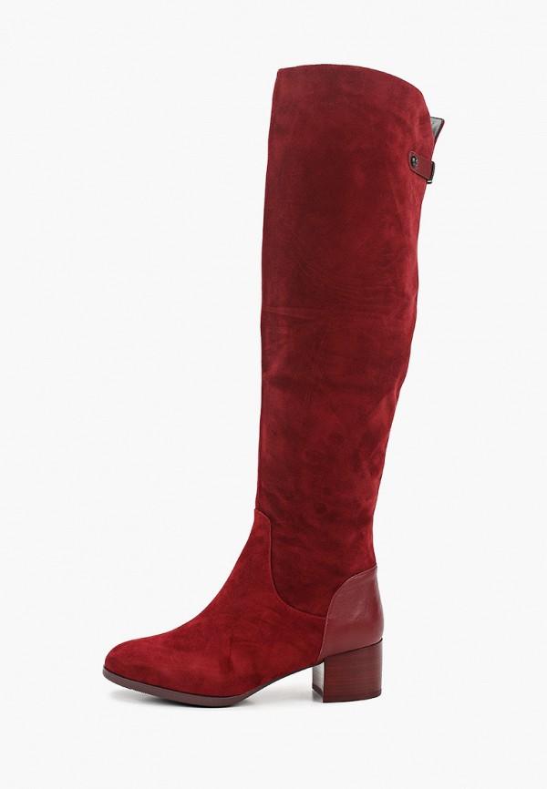женские ботфорты graciana, бордовые