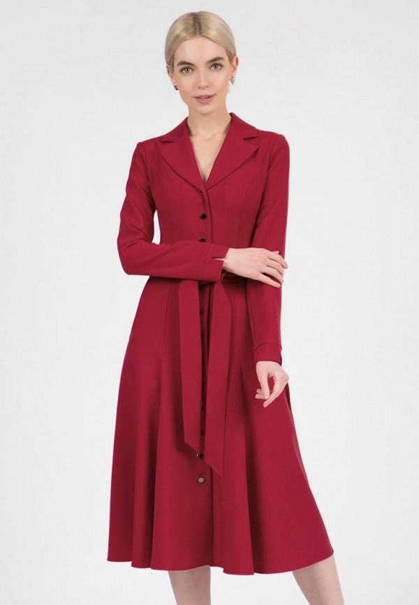 женское повседневные платье olivegrey, красное