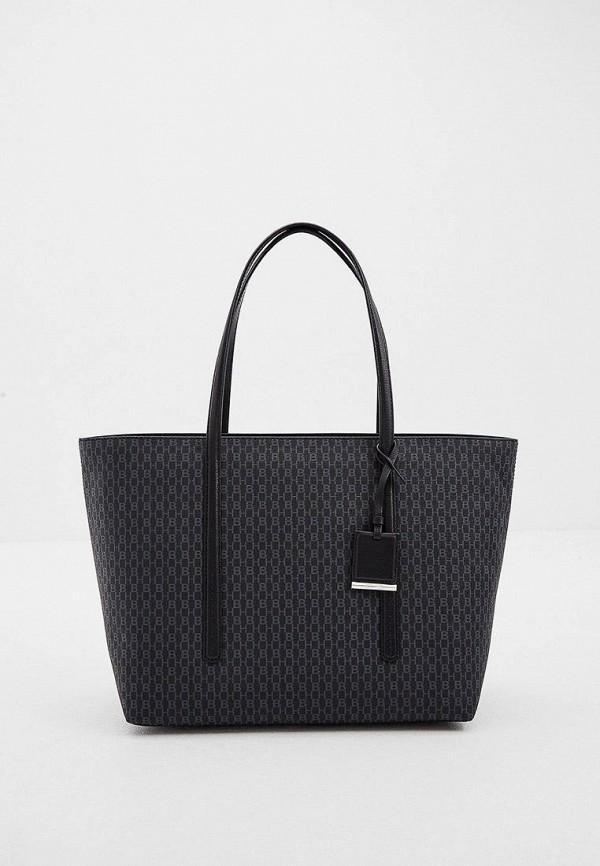 женская сумка-шоперы boss, черная