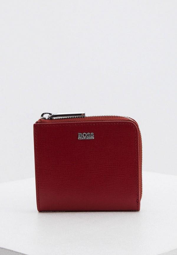 женский кошелёк boss, красный