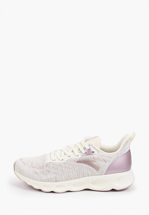 женские низкие кроссовки anta, фиолетовые