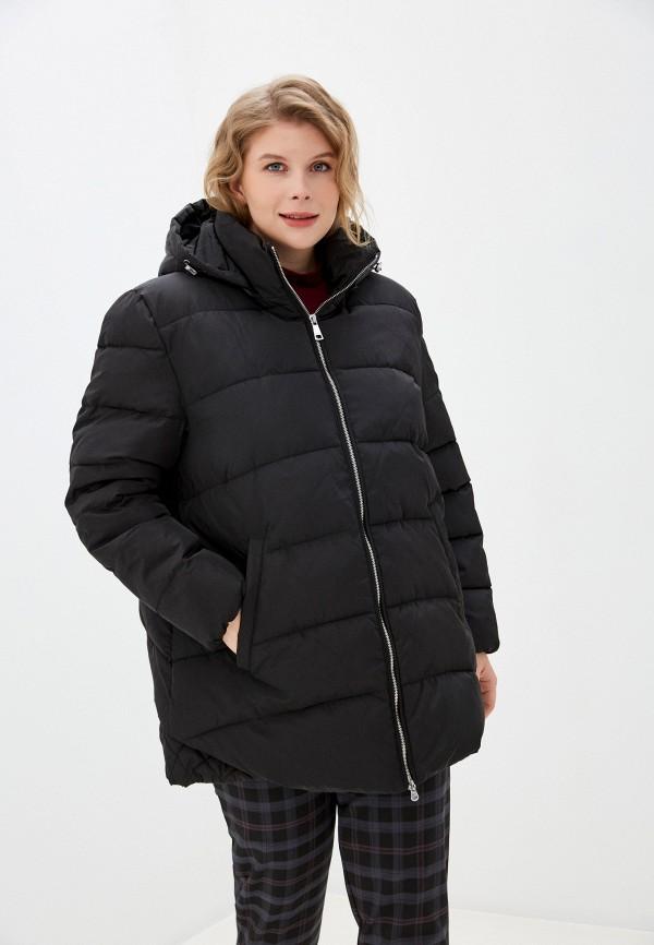женская утепленные куртка averi, черная