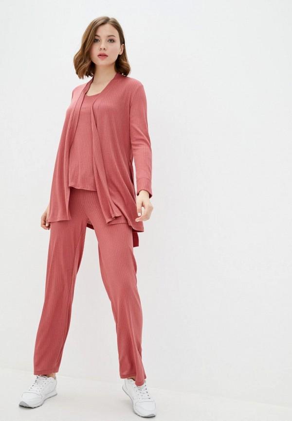 женский костюм ora, розовый