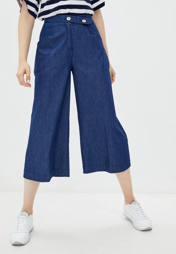 женские брюки ora, синие