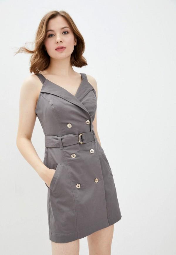 женское платье ora, серое