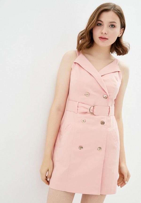 женское платье ora, розовое