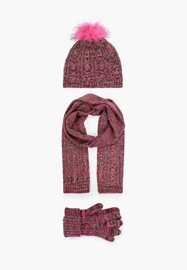 женский шарф vitacci, розовый