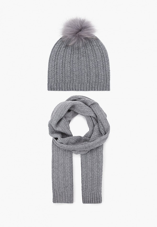 женский шарф vitacci, серый