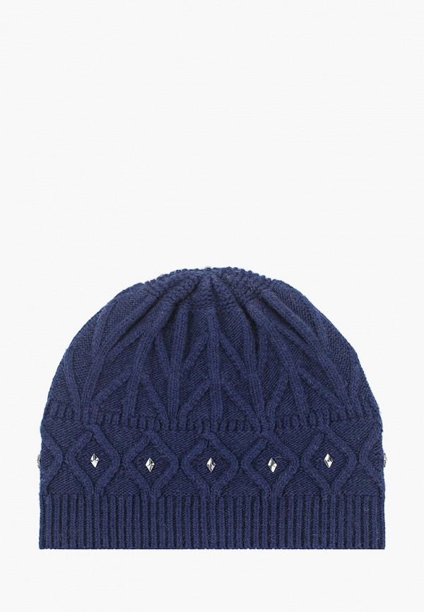 женская шапка vitacci, синяя