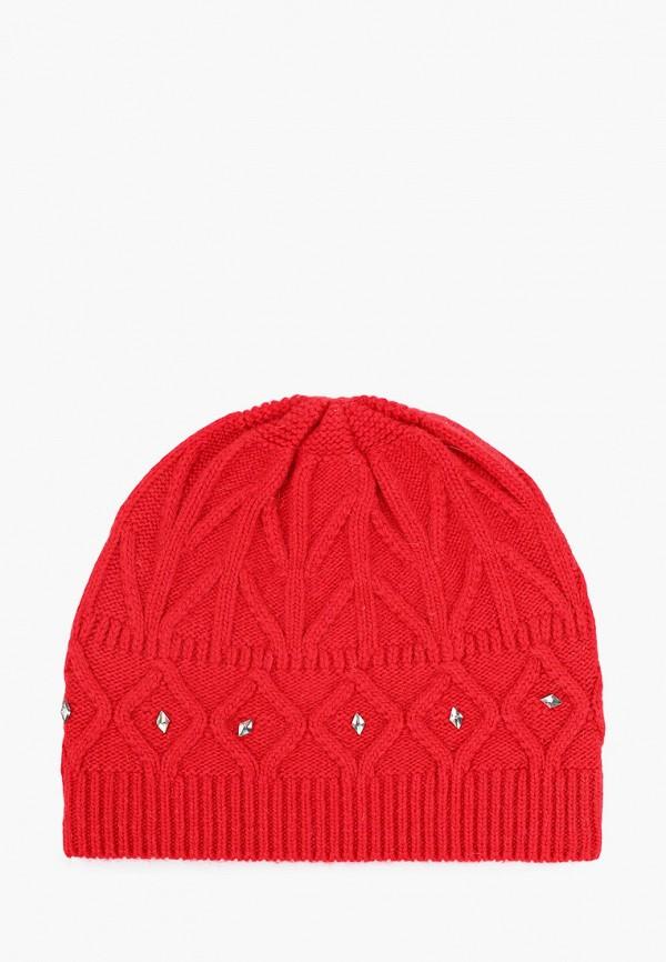 женская шапка vitacci, красная