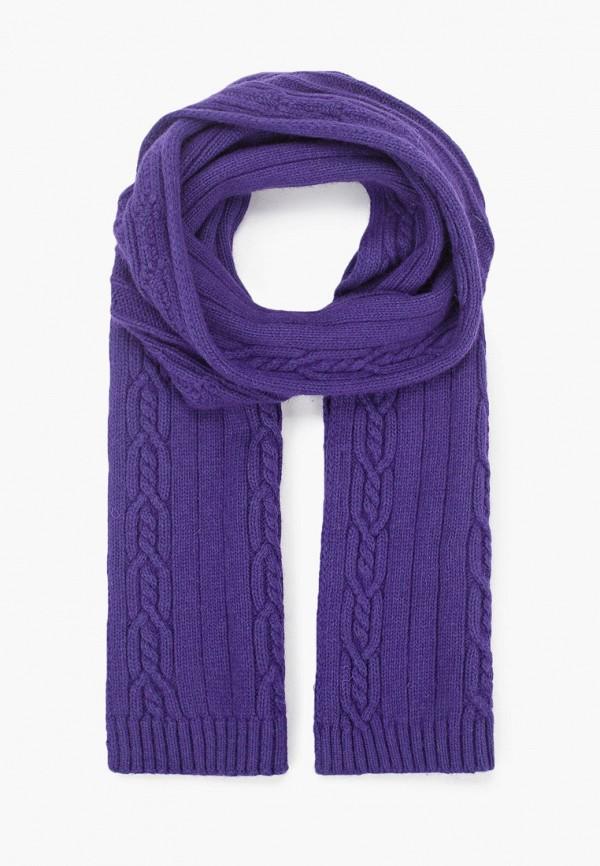 женский шарф vitacci, фиолетовый