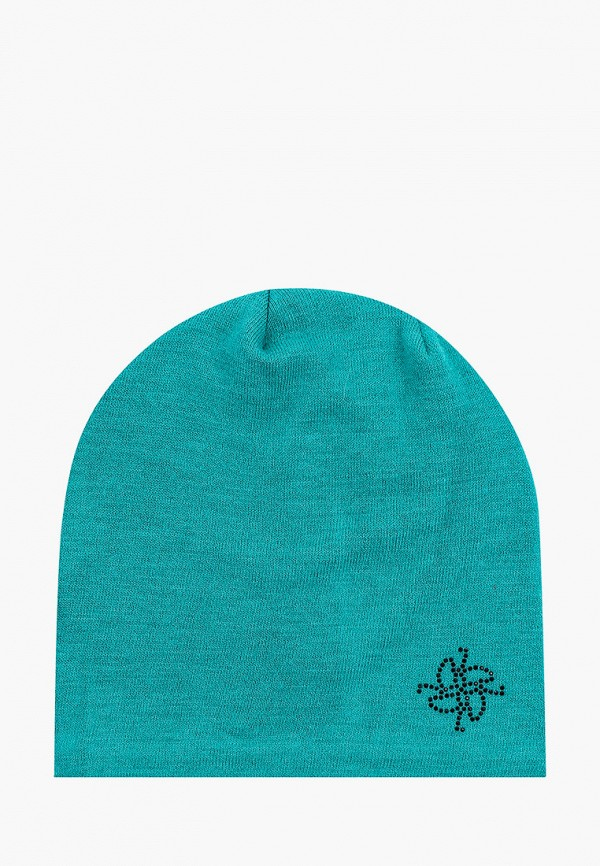 женская шапка vitacci, зеленая