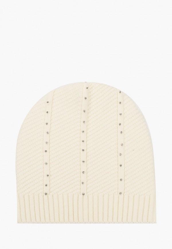 женская шапка vitacci, белая