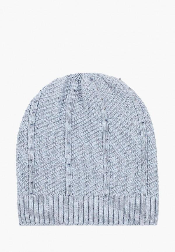 женская шапка vitacci, голубая