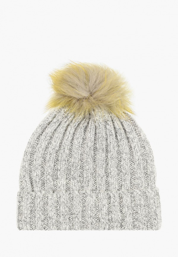 женская шапка vitacci, серая