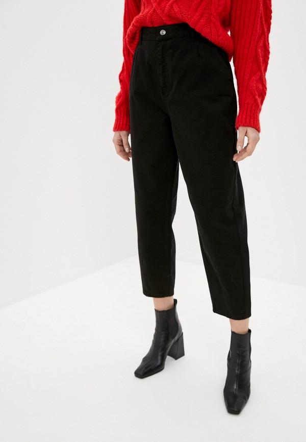 женские джинсы-мом defacto, черные