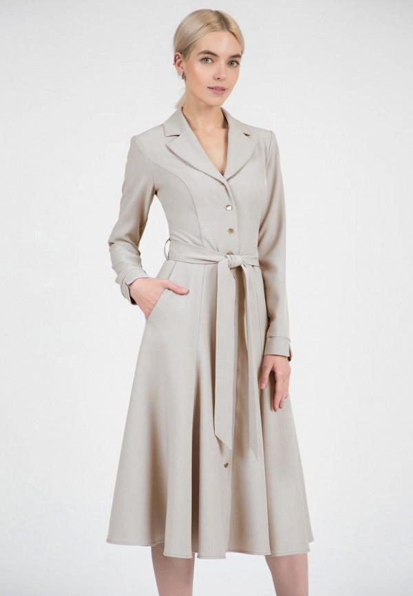 женское повседневные платье olivegrey, серое