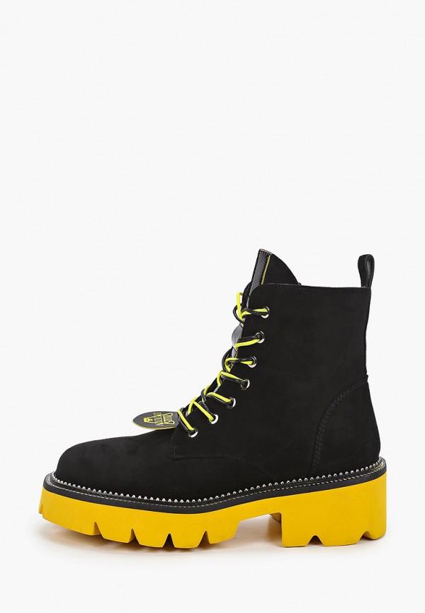 женские высокие ботинки араз, черные