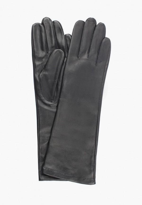 женские кожаные перчатки edmins, черные