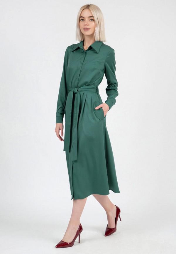 женское платье-рубашки olivegrey, зеленое