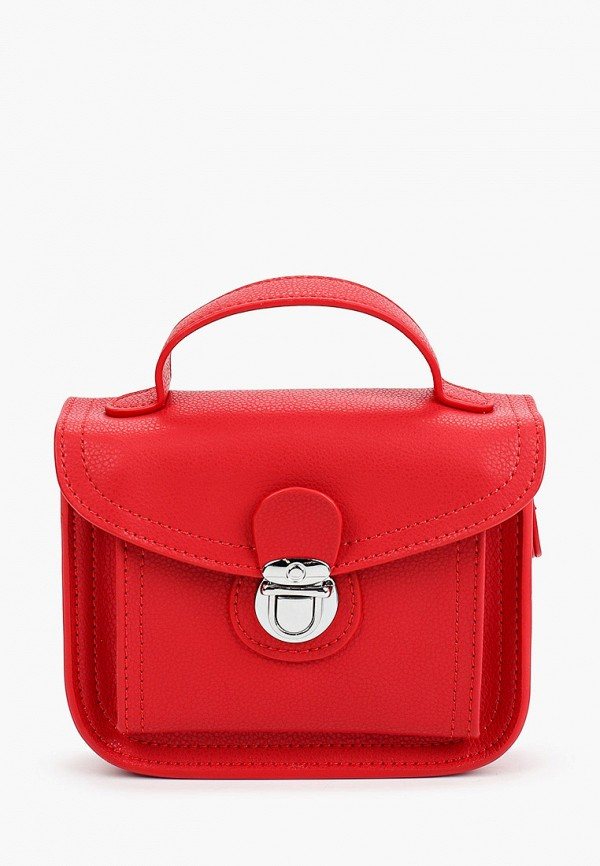 женская сумка с ручками mironpan, красная
