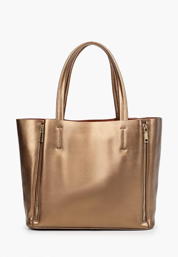 женская сумка-шоперы mironpan, золотая
