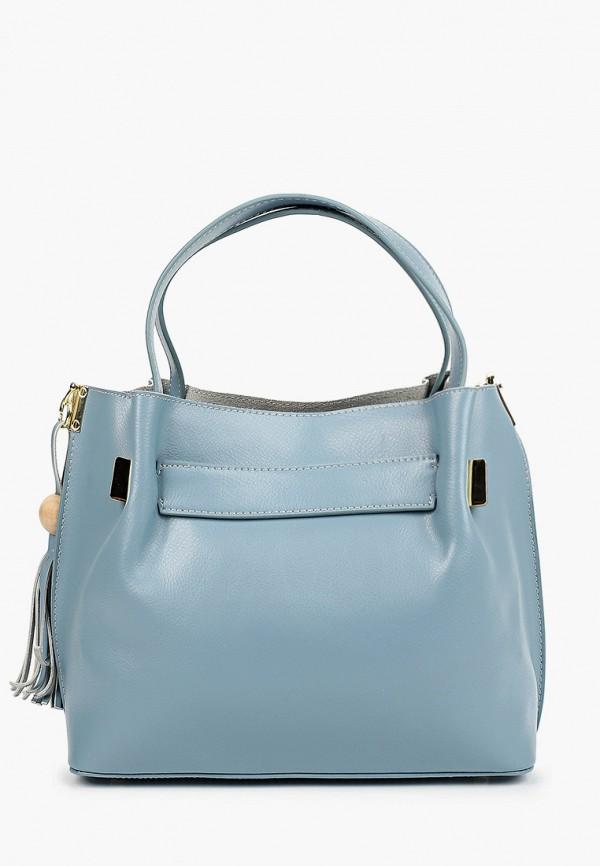 женская сумка с ручками mironpan, голубая