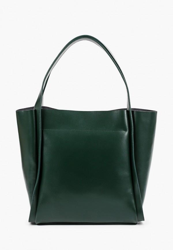 женская сумка с ручками mironpan, зеленая