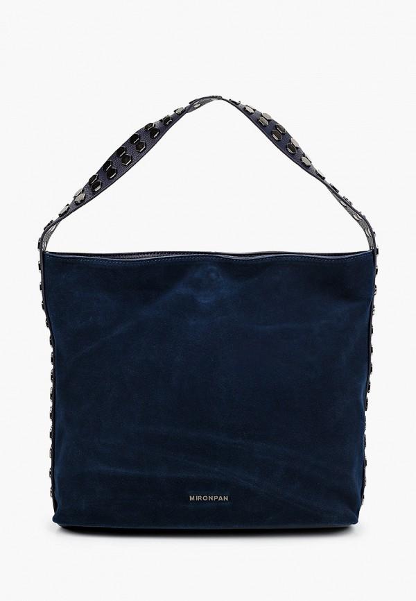 женская сумка с ручками mironpan, синяя