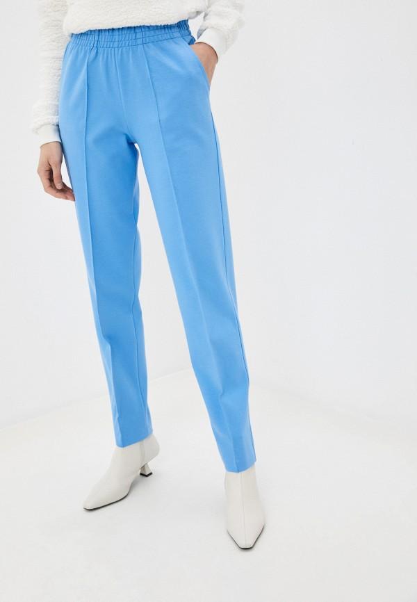 женские повседневные брюки ruxara, голубые